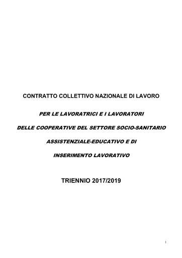 CCNL Coop Sociali 2010-2012